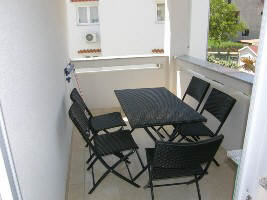 Apartment with dishwasher Baska island Krk Croatia balcony