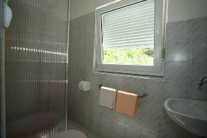 Apartment 58 bathroom Baska island Krk Croatia