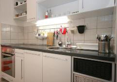 Apartment with air condition kitchen Baska island Krk Croatia