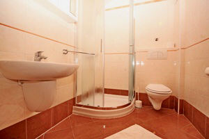 Baska Krk Croatia Apartment 61C bathroom