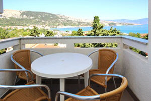 Baska Krk Croatia Apartment 61C balcony