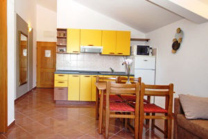 Baska Krk Croatia Apartment 61C kitchen
