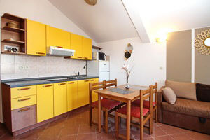 Baska Krk Croatia Apartment 61C living room