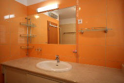 Apartment 69B bathroom Baska island Krk Croatia