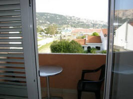 Apartment 75A close to beach Zarok Baska Krk Croatia balcony