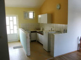 Apartment 75A close to beach Zarok Baska Krk Croatia kitchen