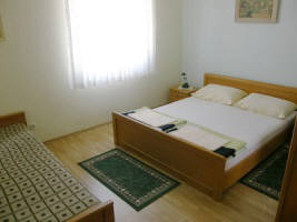 Apartment 75A close to beach Zarok Baska Krk Croatia bedroom