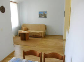 Apartment 75A close to beach Zarok Baska Krk Croatia living room