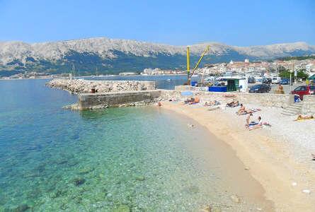Apartments Baska Island Krk Croatia Beach Beaches Fkk Internet Pets Dog Restaurants Mooring