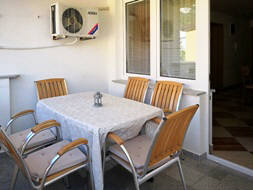 Apartment 15D - Baska island Krk Croatia balcony