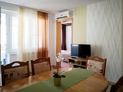 Apartment 15D - Baska island Krk Croatia dining corner