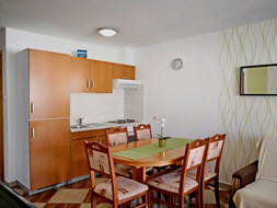 Apartment 15D - Baska island Krk Croatia kitchen