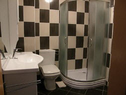 Appartement 15E - Baska island Krk Croatia bathroom
