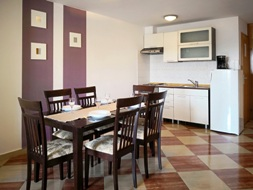 Appartement 15E - Baska island Krk Croatia dining corner