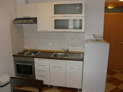 Appartement 15E - Baska island Krk Croatia kitchen