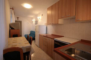 Baska Krk Croatia Apartment-28B dining corner