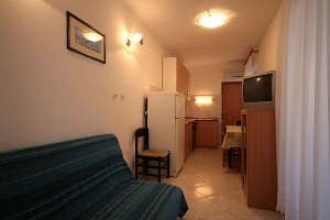 Apartment-28B living room Baska island Krk Croatia