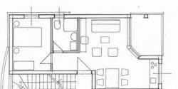Appartement 1A Baska Insel Krk Kroatien Grundriss