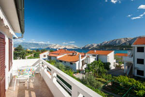 Apartment 21 - terrace - Baska - Krk - Croatia