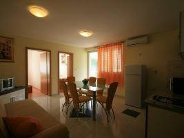Apartment-29 living room Baska island Krk Croatia