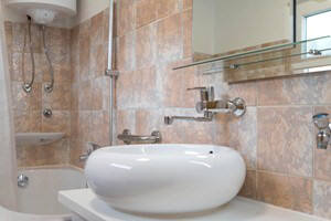 Baska Krk Croatia Apartment-3B bathroom
