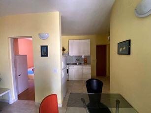Appartement mit Klimaanlage Waschmaschine Baska Insel Krk Kroatien Essplatz