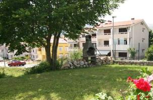 Apartment with garden and barbecue Baska island Krk Croatia