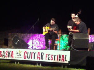 Guitar festival 2014 - Baska island Krk Croatia Gypsy Swing Evening with Joscho Stephan Trio